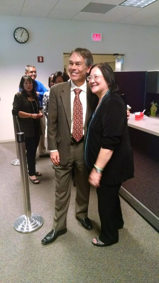 Ariz. Chief Justice Scott Bales and Judge Roxanne Song Ong (ret.)