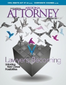 Arizona Attorney December 2014 cover