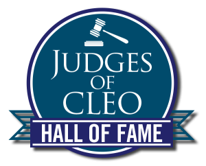 Judges of CLEO Hall of Fame logo