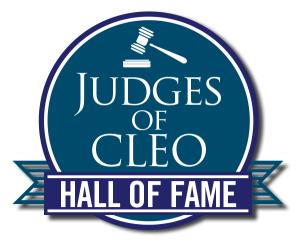Judges of CLEO Hall of Fame logo