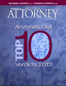 June 2014 Arizona Attorney Magazine