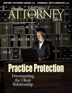 March 2014 Arizona Attorney Magazine