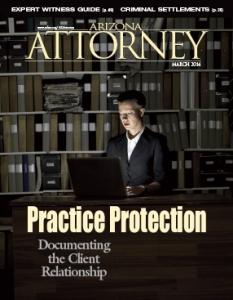 March 2014 Arizona Attorney Magazine
