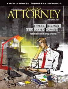 November 2014 Arizona Attorney Magazine