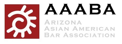 AAABA Arizona Asian American Bar Association logo
