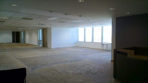 Former State Bar reception area, 18th floor, 111 W. Monroe, Phoenix