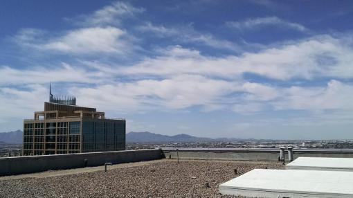 View from the roof of 111 W. Monroe, Phoenix