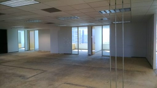 The old Communications Department area, 18th floor, 111 W. Monroe, Phoenix