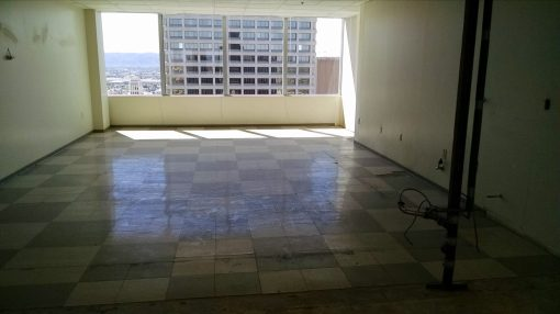 Former kitchen, 18th floor, 111 W. Monroe
