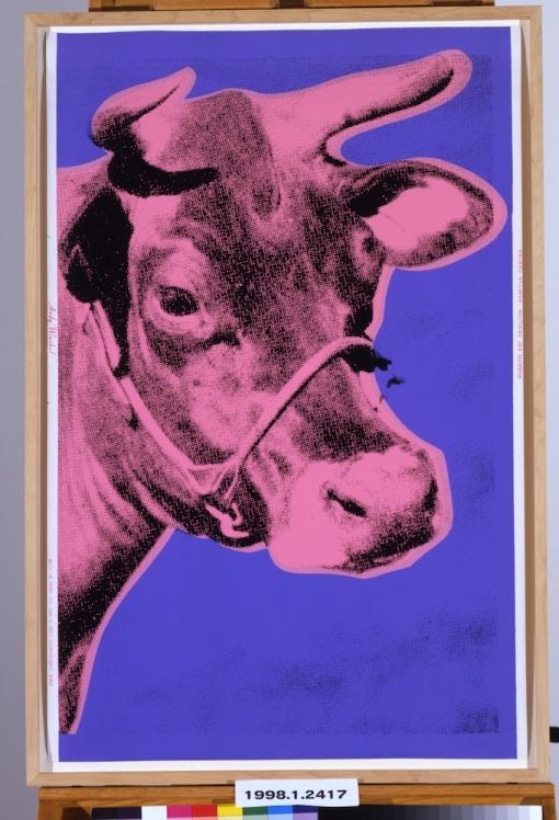 Andy Warhol, Cow, 1976