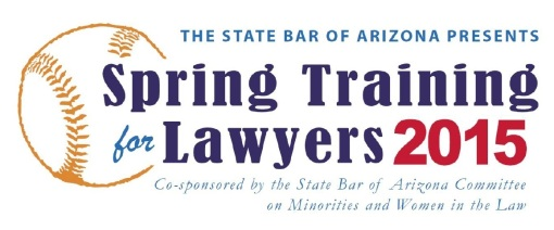 Spring Training for Lawyers Minority Bar Convention 2015-page0001