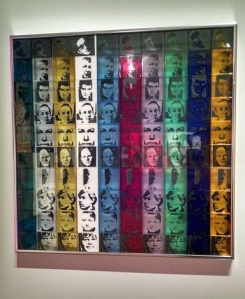 Andy Warhol, Portraits of the Artists from the Portfolio Ten From Leo Castelli, 1967.