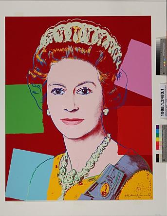 Andy Warhol, Queen Elizabeth II of the United Kingdom, 1985