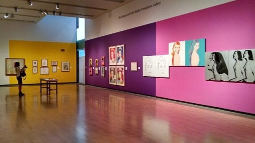 Andy Warhol Portraits exhibit, Phoenix Art Museum, March 4 - June 21, 2015.