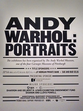 Poster for Any Warhol: Portraits