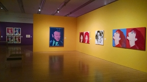 Andy Warhol Portraits exhibit, Phoenix Art Museum, March 4 - June 21, 2015.