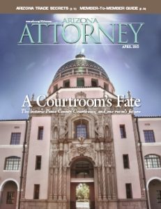 Arizona Attorney, April 2015