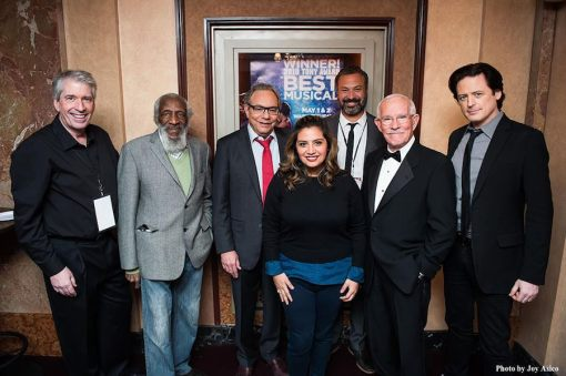 Among those featured in tonight's Bill of Rights Comedy Concert will be (L to R) Chris Bliss, Dick Gregory, Lewis Black, Cristela Alonzo, Ahmed Ahmed, Tom Smothers, and John Fugelsang.