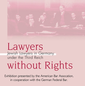 LawyersWithoutRights logo cover Holocaust