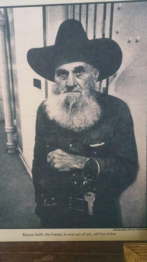 Former jailkeeper, Gila County, Ariz.