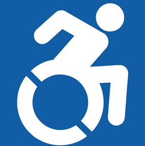 A new icon is available to indicate accessibility in the City of Phoenix.