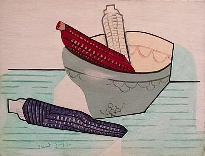 Indian Corn by Stuart Davis