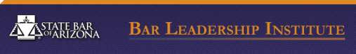 State Bar of Arizona Leadership Institute header