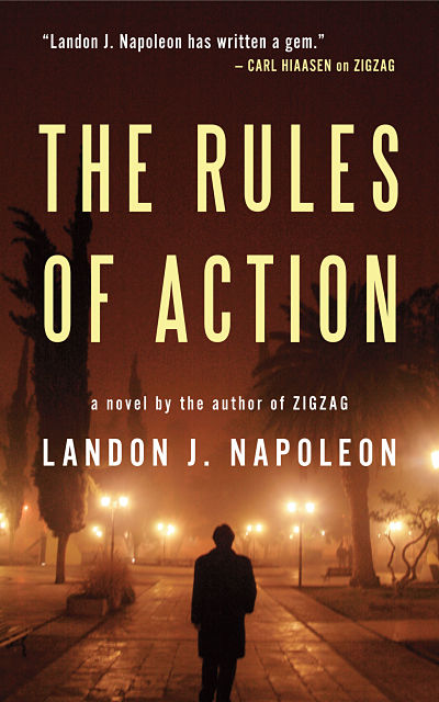 The Rules of Action by Landon Napolean book cover_opt