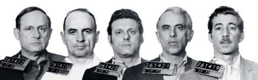 The Watergate burglars: Barker, McCord, Sturgis, Martinez, and Gonzalez. Photograph of McCord by Wally McNamee/Corbis; Others courtesy of Bettmann/Corbis/AP Images.