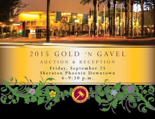 ASU Law School Gold and Gavel