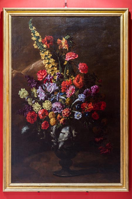 Flowers painting by Paolo Porpora
