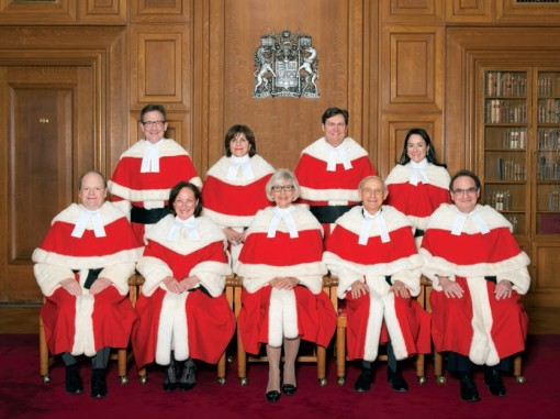 Judges of the Supreme Court of Canada
