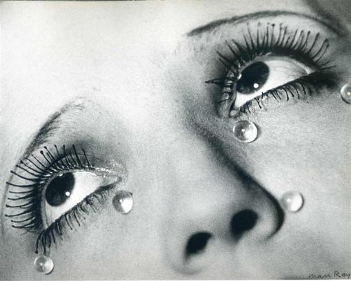 Man Ray's Glass Tears (via wikiart)