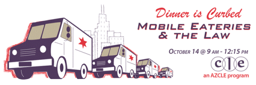 Mobile Eateries and the Law. Yep, those are food trucks. Eat. Learn. Repeat.