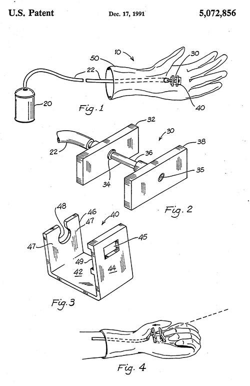 Stephen Kimble Web-Blaster patent