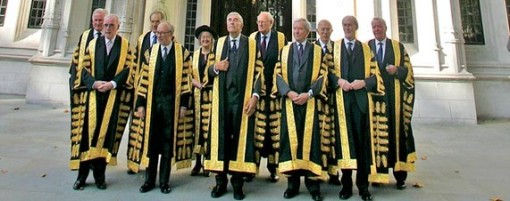 The Supreme Court of the U.K.: They could stop injustice—and traffic—in those robes.