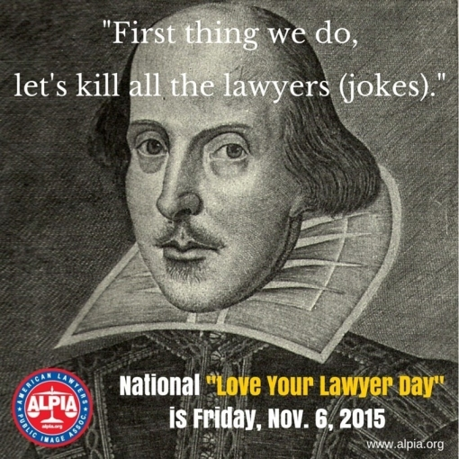 Intl #LoveYourLawyerDay