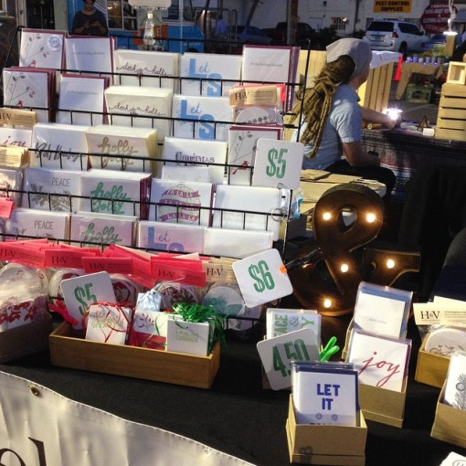 It doesn't get much more artisanal than this: handmade items from Hazel & Violet letterpress, on historic Grand Ave. in downtown Phoenix. (Photo Downtown Phoenix Inc.)
