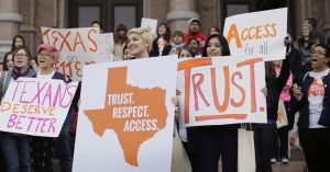 "A Texas case may be ""the most important Supreme Court battle over abortion in a generation."""
