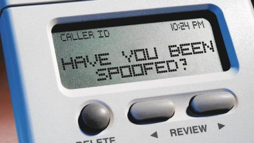 caller ID spoofing scam