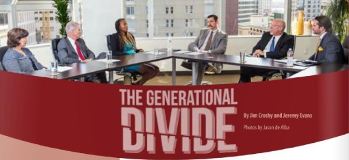 The current issue of San Diego Lawyer asks attorneys how they view differences between the legal generations.