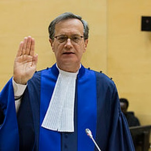 International Criminal Court Judge Ambassador Marc Perrin de Brichambaut