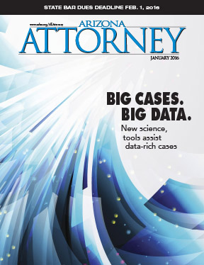 Big Data, big deal: Our January 2016 cover