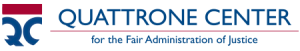 Quattrone Center on the Fair Administration of Justice logo