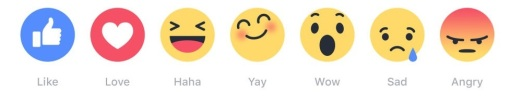 Spot the ha-ha in the new Facebook emoji.