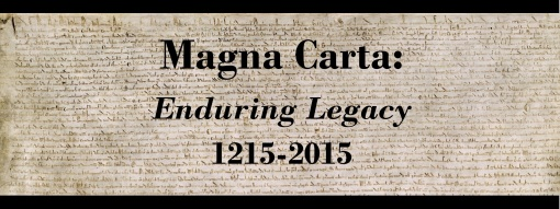 Magna Carta Exhibit Reception Invite header
