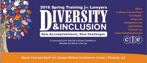 State Bar diversity conference 2016 header