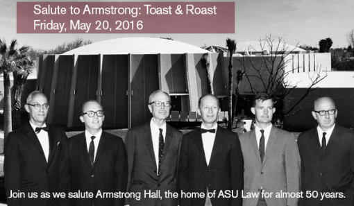 ASU Law School says goodbye to Armstrong Hall