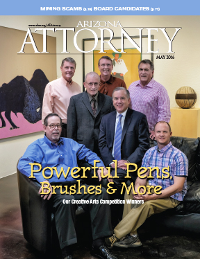 May_2016 Arizona Attorney Magazine cover