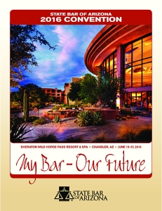 A record-number of legal seminars are on offer at the 2016 State Bar of Arizona Convention.